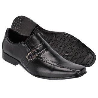 Sapato Social Leoppé Couro Bico Fino