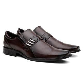 Sapato Social Lisboa Liso Clássico Masculino