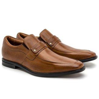 Sapato Social Loafer Masculino Couro Conforto Macio Estilo
