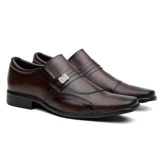 Sapato Social Lyon Textura Moda Elegante Masculino