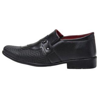 Sapato Social Masculino Ajustável Conforto Elegante Casual