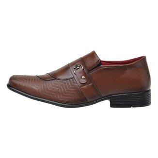 Sapato Social Masculino Ajustável Conforto Leve Casual