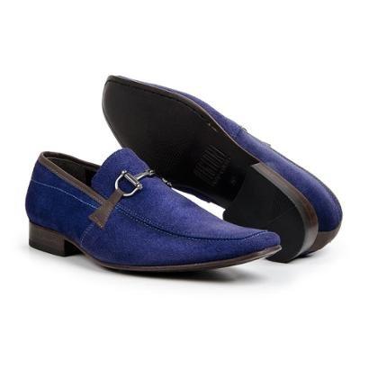 Sapato Social Masculino Bico Fino de Couro Legítimo Bigioni
