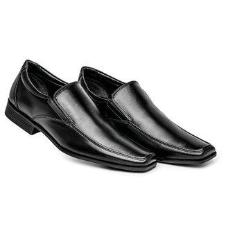Sapato Social Masculino Bico Quadrado Confortável