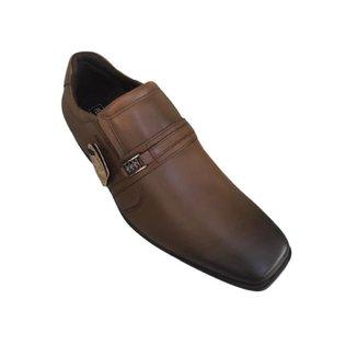 Sapato Social Masculino Bico Quadrado Couro Ferracini 3167