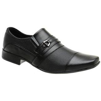 Sapato Social Masculino Bico Quadrado Macio Dia a Dia