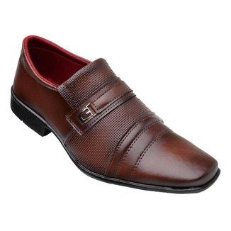Sapato Social Masculino Bico Quadrado Torrenezzi 833 Alongado