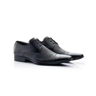 Sapato Social Masculino Bigioni Couro Estampa 307