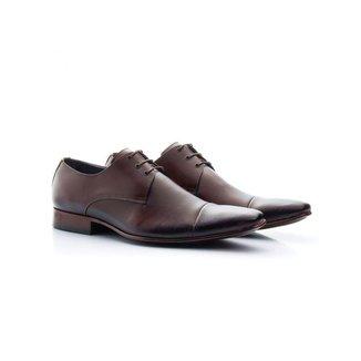 Sapato Social Masculino Bigioni Couro Mouro 307