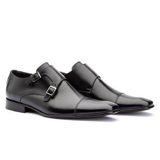 Sapato Social Masculino Bigioni Cromo 521