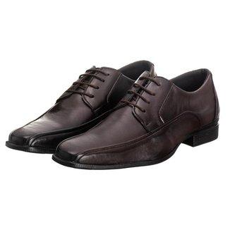 Sapato Social Masculino Cadarço Conforto Estilo Moderno
