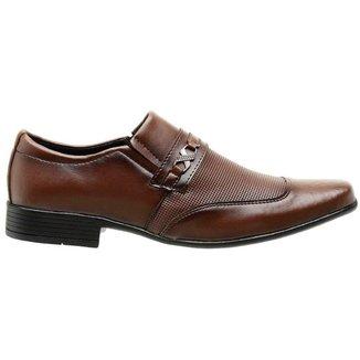 Sapato Social Masculino Casual Capuccino