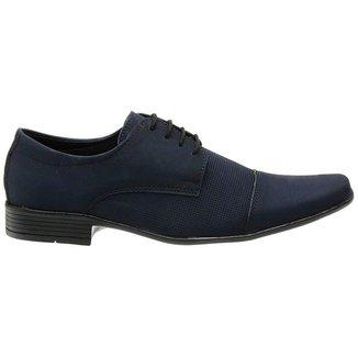 Sapato Social Masculino Classico Casual Marinho