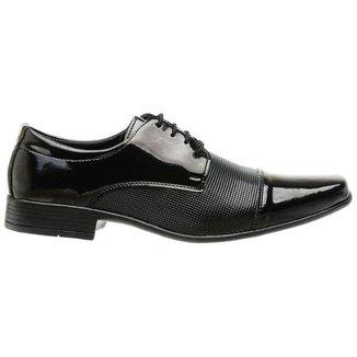 Sapato Social Masculino Classico Casual Preto