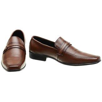 Sapato Social Masculino Clássico Fashion Elegante Elástico