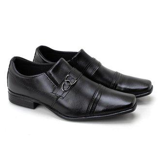 Sapato Social Masculino Clássico Liso Elegante