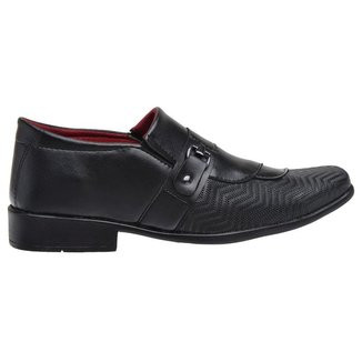 Sapato Social Masculino Conforto Clássico Dia a Dia Elegante