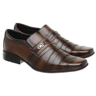 Sapato Social Masculino Couro Clássico Confortável Elegante