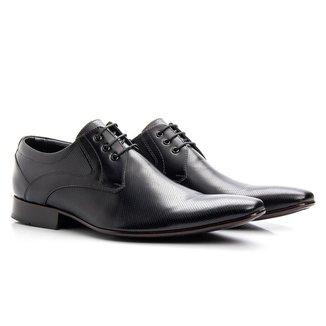 Sapato Social Masculino Couro Clássico Conforto Elegante