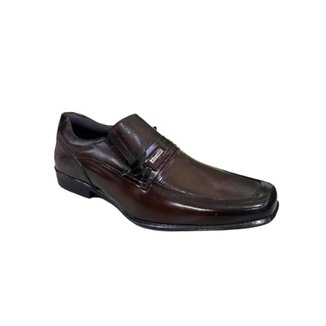 Sapato Social Masculino Couro Com Cinto Rafarillo
