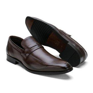 Sapato Social Masculino Couro Confortável Clássico Macio
