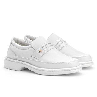 Sapato Social Masculino Couro Confortável Elegante Dia a Dia