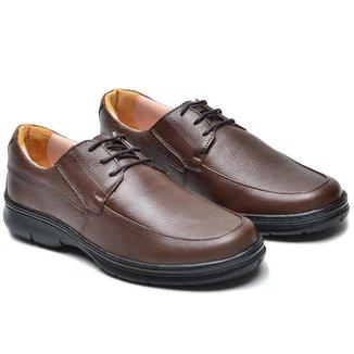 Sapato Social Masculino Couro Confortável Elegante Macio