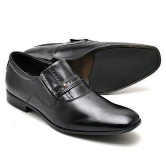 Sapato Social Masculino Couro Confortável Leve Macio Moderno