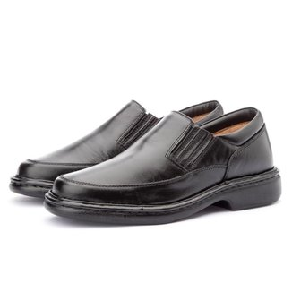 Sapato Social Masculino Couro Confortável Macio Casual