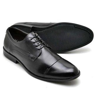 Sapato Social Masculino Couro Confortável Macio Leve Moderno