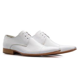 Sapato Social Masculino Couro Confortável Resistente Macio