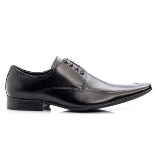 Sapato Social Masculino Couro Cromo 157