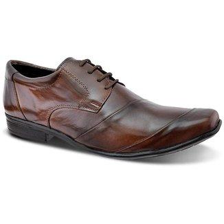 Sapato Social Masculino Couro de Amarrar Leoppé