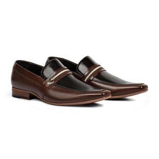 Sapato Social Masculino Couro Elegante Conforto Sofisticado
