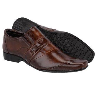Sapato Social Masculino Couro Leoppé