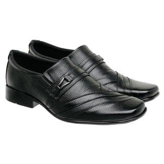 Sapato Social Masculino Couro Leve Clássico Macio Elegante