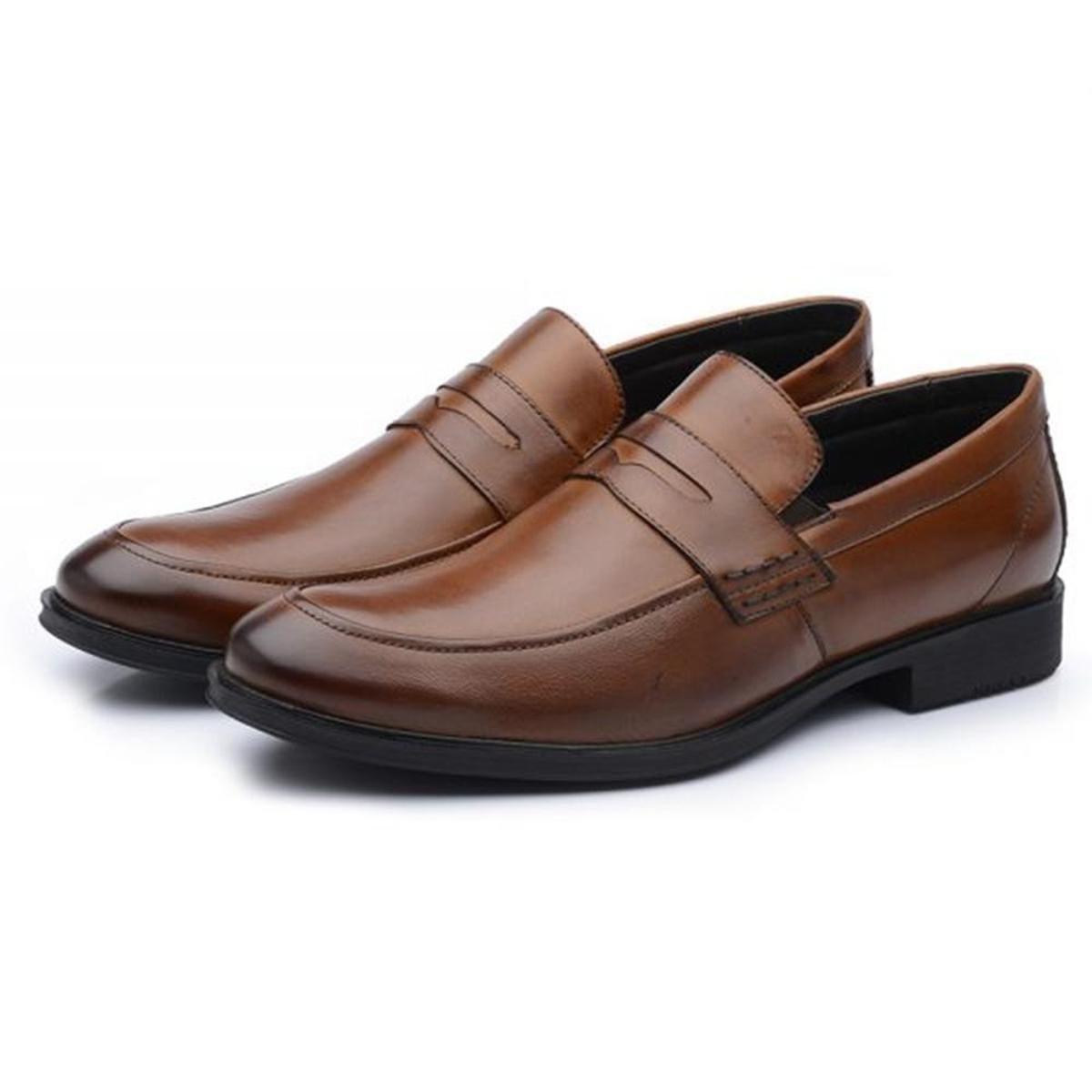 6c0ffda4c6 Sapato Social Masculino Couro Liso Hidha - Compre Agora