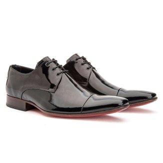 Sapato Social Masculino Couro Luxo Conforto Macio Dia a Dia