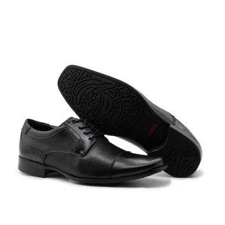 Sapato Social Masculino Couro Oxford confortável- 7301