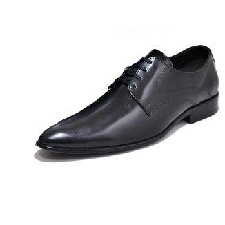 Sapato Social Masculino Couro Palmilha Almofadada Conforto