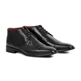 Sapato Social Masculino Couro Sofisticado Elegante Conforto