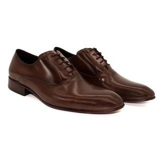 Sapato Social Masculino Couro Sola de Couro Novo Clássico Homem