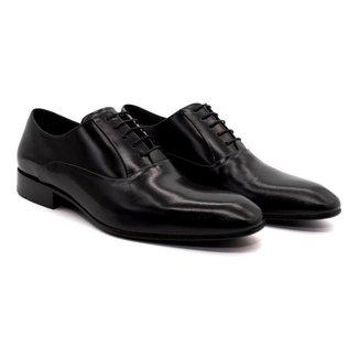 Sapato Social Masculino Couro Sola de Couro Novo Elegante Confortável