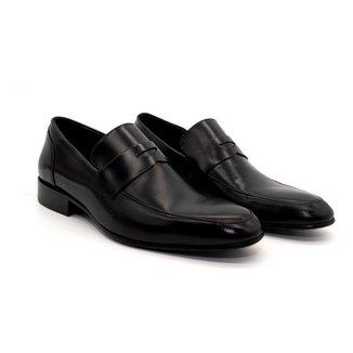 Sapato Social Masculino Couro Sola de Couro Novo Homem Elegante