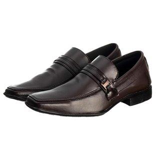 Sapato Social Masculino Elástico Conforto Elegante Liso