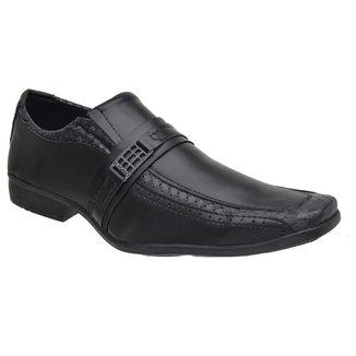 Sapato Social Masculino Elástico Fivela Moderno Elegante