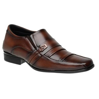 Sapato Social Masculino Elástico Macio Leve Confortável