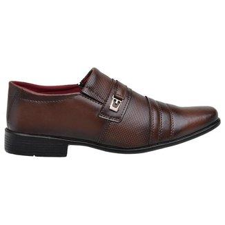 Sapato Social Masculino Elegante Clássico Dia a Dia Conforto