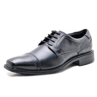 Sapato Social Masculino Em Couro 31913 Preto 302