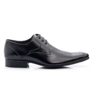 Sapato Social Masculino em Couro Bigioni Linha Borracha Classic